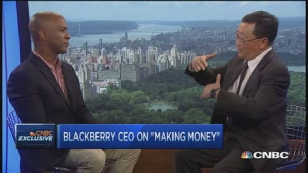 BlackBerry's 2015 money making plan