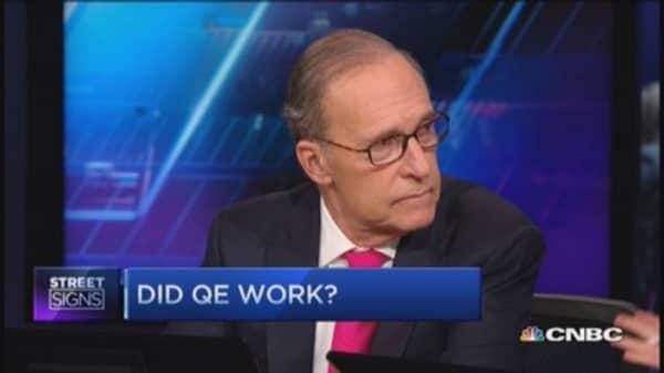 Kudlow & Liesman debate QE