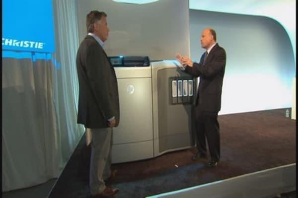 Cramer checks out HP's 3D tech