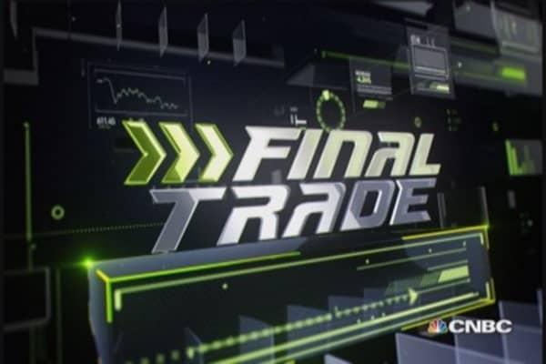 Fast Money Final Trade: GS, QQQ, BAC & HPQ