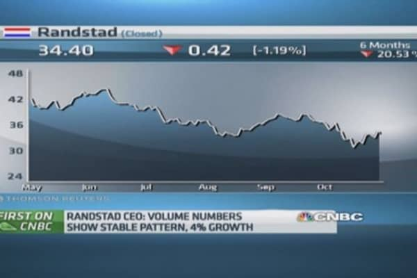 US blue-collar work growing: Randstad CEO