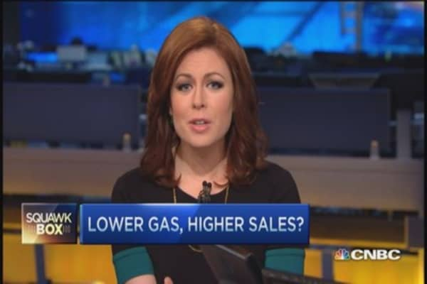 Will lower gas prices drive small biz sales?