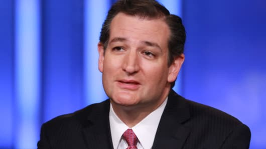 Ted Cruz Squawk box, Ted Cruz CNBC, Ted Cruz