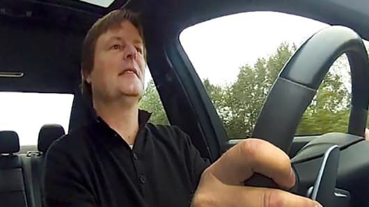 Daniel Wolfs, cab driver