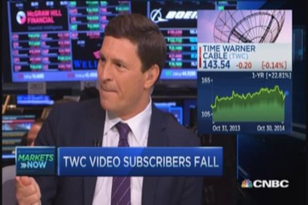 TWC loses video subscribers