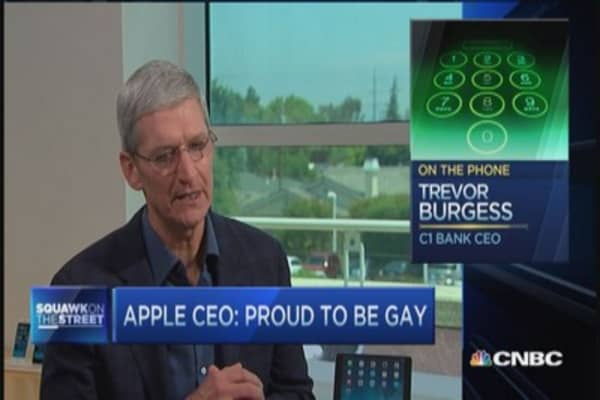 Burgess: Tim Cook can be tremendous force for change