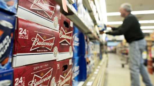 Anheuser-Busch Inbev SA (BUD) Issues Earnings Results