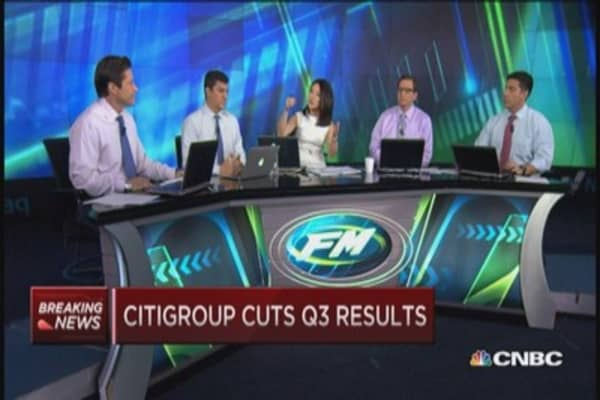Citigroup cuts Q3 results: How to trade it