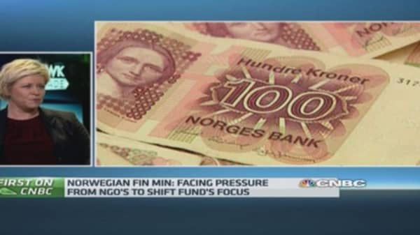 Norway can't become complacent over growth: FinMin