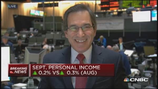 Personal income up 0.2%, spending drops 0.2%