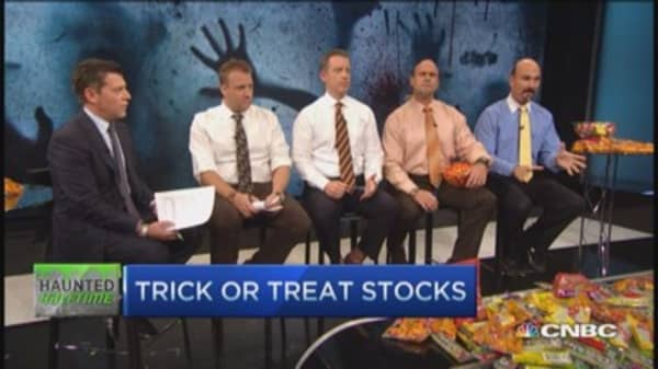 Trick or treat: Ensco, General Motors & more