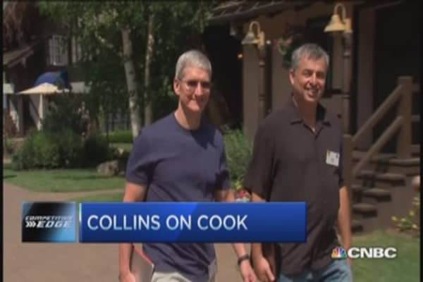NBA's Collins proud of Tim Cook