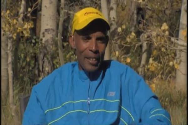 Marathon man Meb Keflezighi