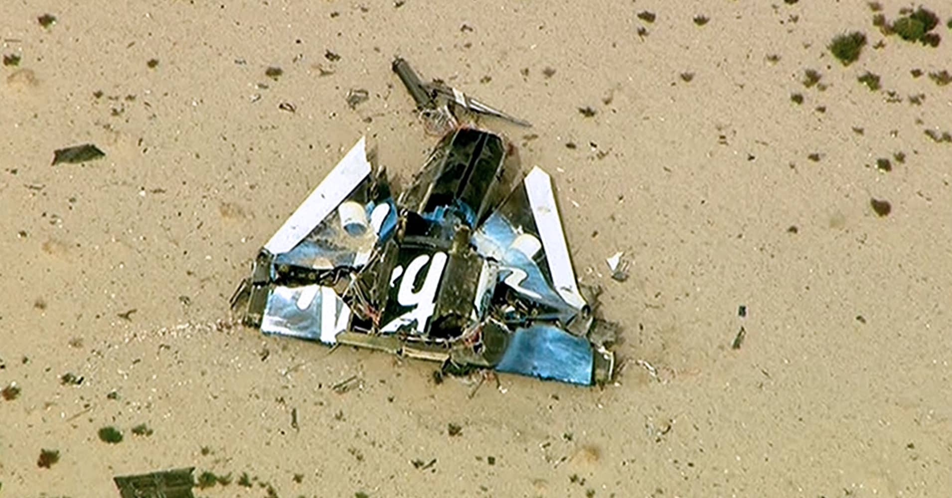 Pilot actions examined in US crash of Virgin Galactic ...