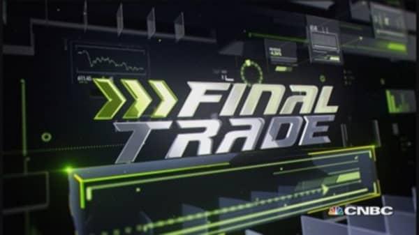 Fast Money Final Trade: GS, BBY, DXJ, C