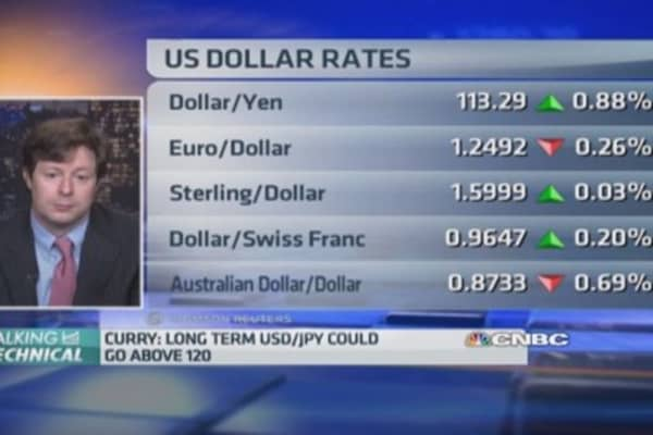 Dollar/Yen long term could go above 120: Pro