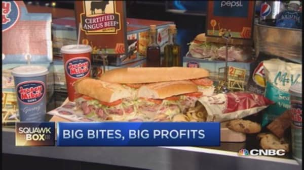 Jersey Mike's appetite for growth