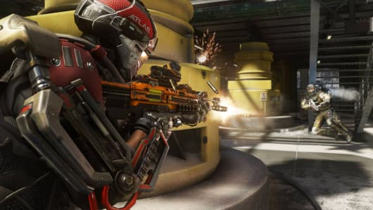"""A screen image from """"Call of Duty: Advanced Warfare"""""""