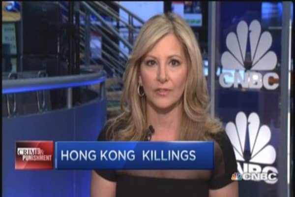Double homicide in Hong Kong