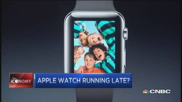 Apple Watch taking its time?