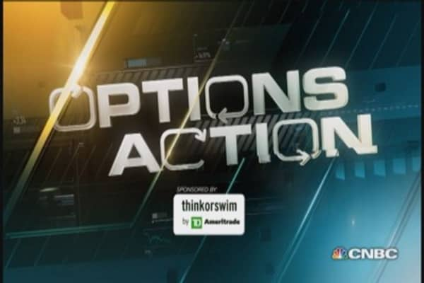 Options Action: Big bets against CBS