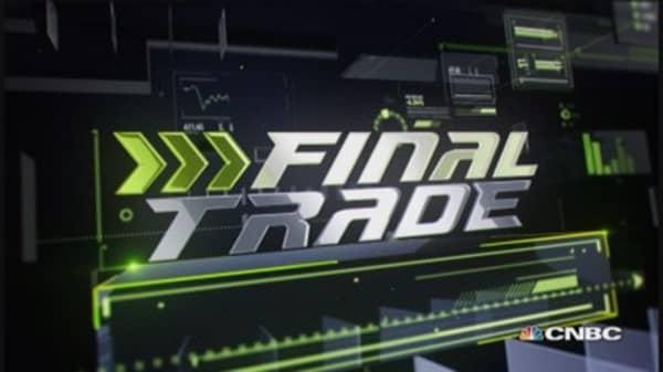 Fast Money Final Trade: YHOO, SLV, BABA & MCD