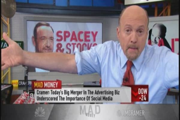 Cramer: Merger Monday back with vengeance