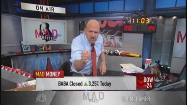 Cramer: BABA is Amazon on steroids