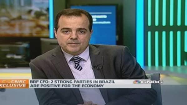 'The future looks bright for Brazil': BRF CFO