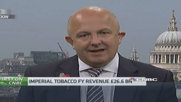Growth markets for Imperial Tobacco?