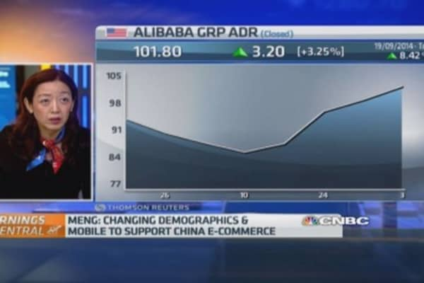 Alibaba will sell to 50% of China: Analyst