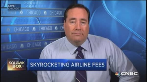 Airlines cash in on skyrocketing fees