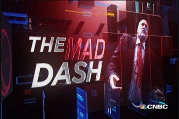 Cramer's Mad Dash: Ackman impacting HLF
