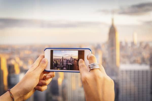 Smart phone photography New York
