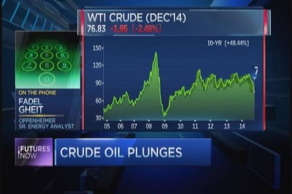 Top oil analyst: Crude could fall to $60