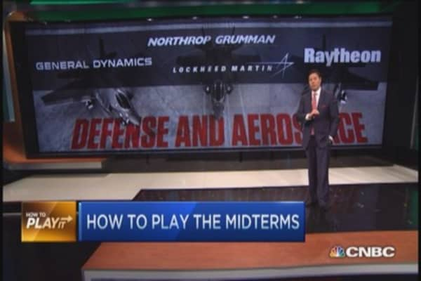 Midterm election plays: Defense, aerospace & more