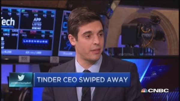 Tinder's Sean Rad demoted from CEO position