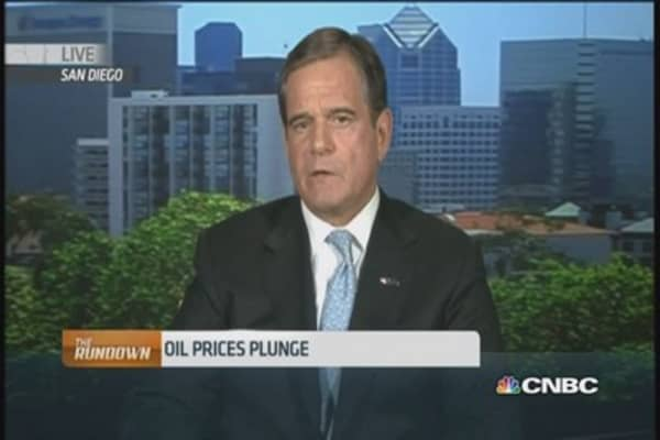 Amid oil's plunge, stay on the sidelines: Pro