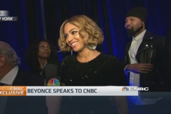 Beyonce teams up with Topshop as group moves in on US