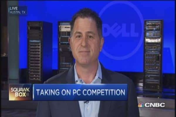 Dell's private plan to take on rivals: CEO