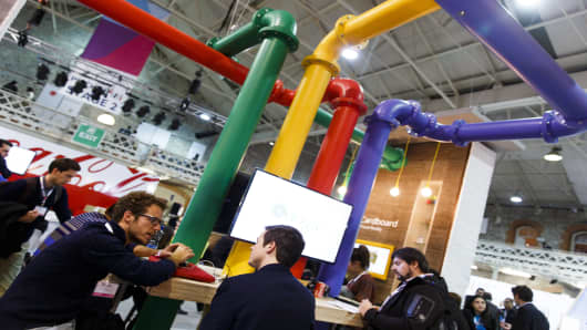 Big business and start-ups meet at the Web Summit in Dublin