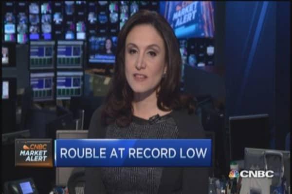 Russia cuts ruble intervention
