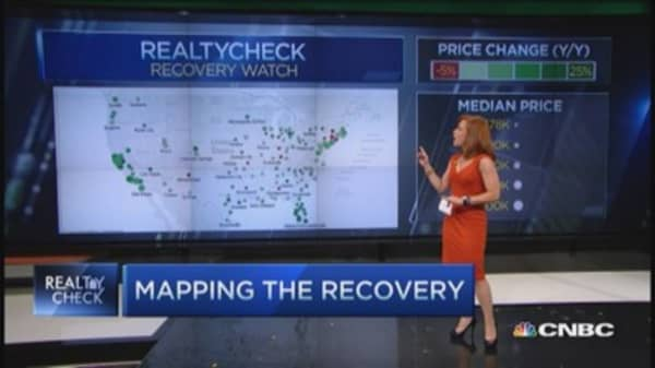 Real-time look at real estate recovery