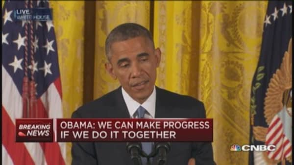 Obama on immigration: Send bill I can sign