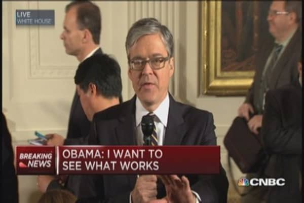 President Obama hopes to work with GOP leaders
