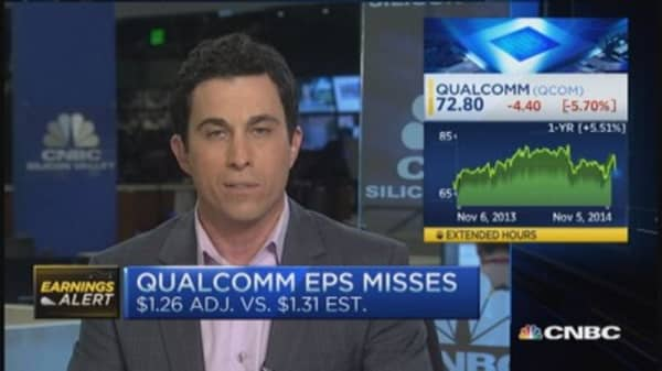 Qualcomm disappoints