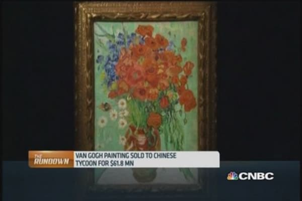 Chinese mogul buys van Gogh artwork at record price
