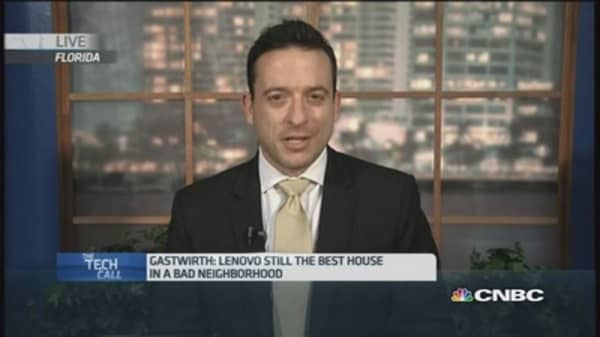 Lenovo - 'The best house in a bad neighborhood'?