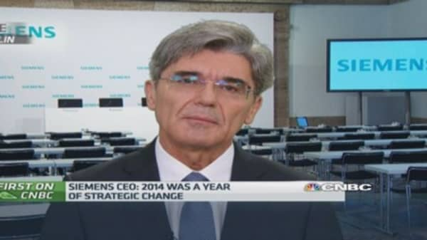 Acquisitions show US focus: Siemens CEO