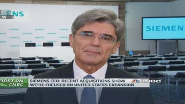 Siemens CEO on Germany slowdown
